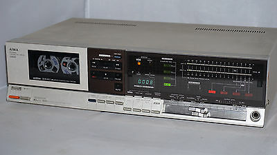 AIWA AD-3800 3head cassette deck Dolby, auto calibration & demagnetizing, manual