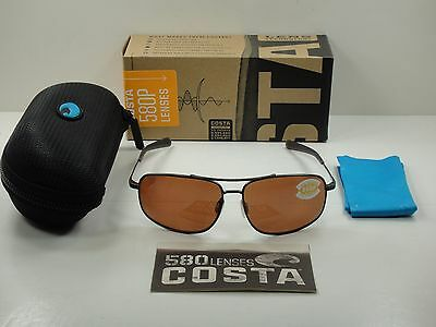 0e323ad535 Costa Del Mar Shipmaster Polarized Smr22 Ocp Sunglasses Gunmetal Copper 580P
