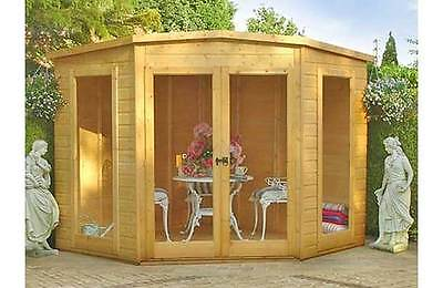 Homewood Pine Barclay Tongue and Groove Summerhouse Log Cabin - 8 x 8ft :Argos