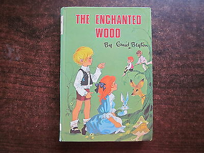 THE ENCHANTED WOOD by Enid Blyton Vintage 1971  Book HC Magic Faraway Tree #1