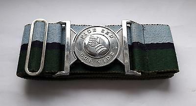Vintage 20th Armoured Infantry Brigade Stable Belt 100% BRITISH MADE SIZE LARGE