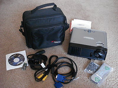 New Optoma Ep716R Digital Dlp Projector With Carrying Case