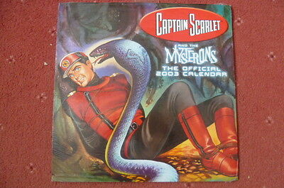 Captain Scarlet 2003 Sealed Official Calendar