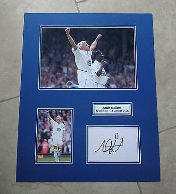 Alan Smith - Leeds United Afc - Huge Signed Photo Montage