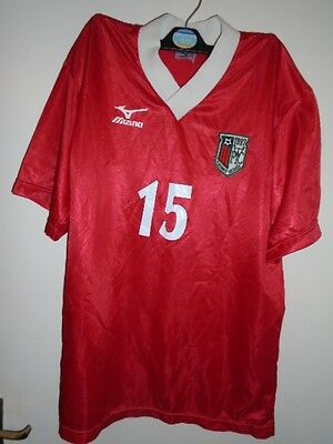 Tokyo West football club red shirt Hachioji  Large japan number 15