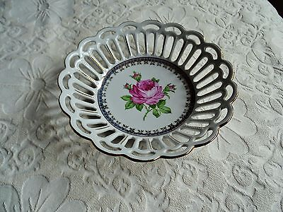 Pretty Dish Dresden China Foreign