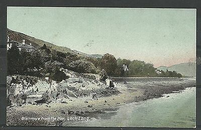 Postcard : Blairmore on Loch Long from the Pier