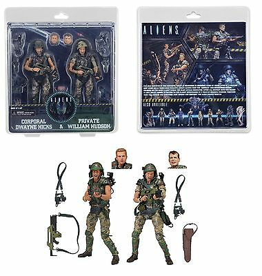 Neca Aliens Hicks & Hudson Action Figure 2 Pack Colonial Marines Special Edition