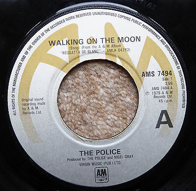 The Police Walking On The Moon/visions Of The Night 1979