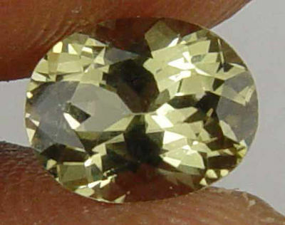 1.30CT Nice Oval 100% Natural Kornerupine Gem 10090113