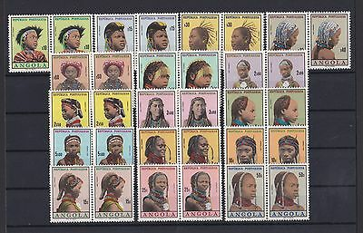 Portugal - Angola Nice Complete Set in Pairs MNH 1