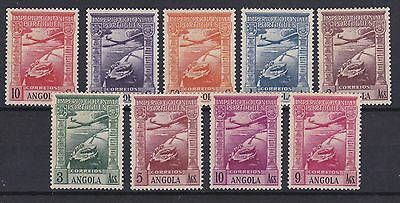 Portugal - Angola Airmail Nice Complete Set MLH