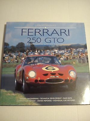 Ferrari 250 GTO Keith Bluemel with Jess G Pourret Landmarques Hardback Book