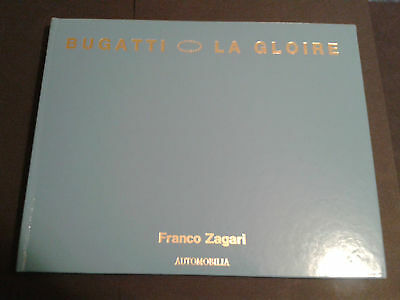 Bugatti La Gloire Franco Zagari Leather Bound Limited Edition # 52 / 1000 Book