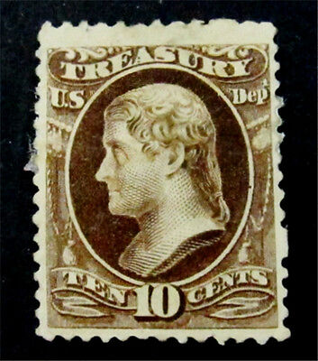 nystamps US Official Stamp # O111 Mint with Gum H $260