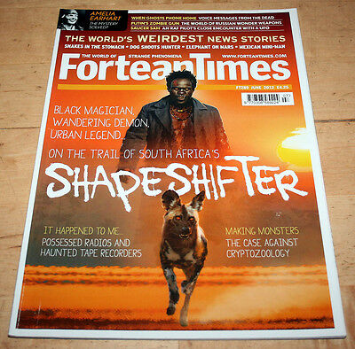Fortean Times 289 (June 2012) - South African shapeshifter, haunted radios