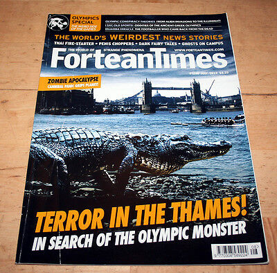 Fortean Times 290 (July 2012) - crocodiles in the Thames, cannibal panic