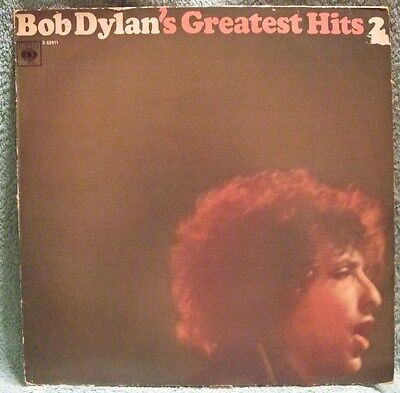 Vynil LP Bob Dylan Greatest Hits 2