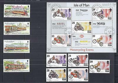 y806 Isle of Man / A Small Collection sets Early & Modern Used