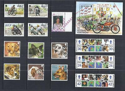 y808 Isle of Man / A Small Collection sets Early & Modern Used