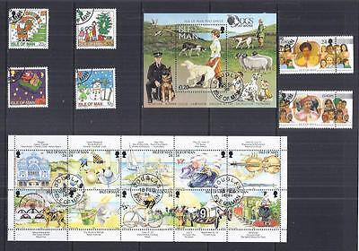y809 Isle of Man / A Small Collection sets Early & Modern Used