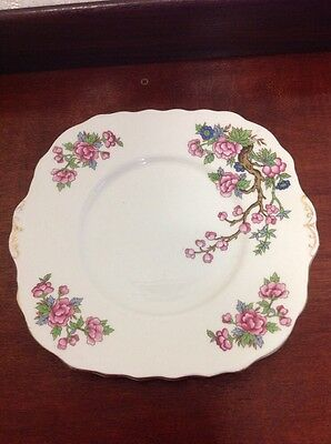 Vintage Indian Tree Colclough Bone China Cake Plate