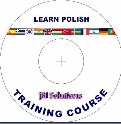Learn To Speak Polish Language Course DVD, MP3