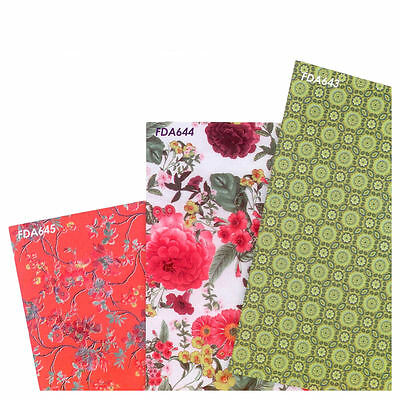 Decopatch Decoupage Printed Paper Collection - Tropical