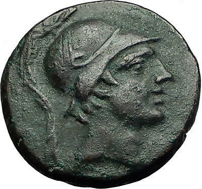 Amisos Pontus 105BC MITHRADATES VI the GREAT Time Ares Ancient Greek Coin i59163