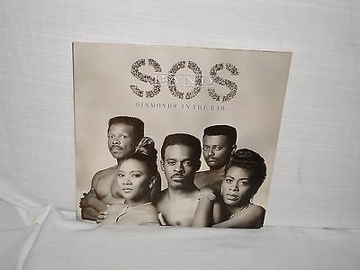 The S.O.S. Band, Diamonds in The Raw, 1989, Vinyl, Original, SOS Band