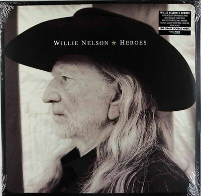 Willie Nelson - Heroes (2 x 180g Vinyl LP) New & Sealed