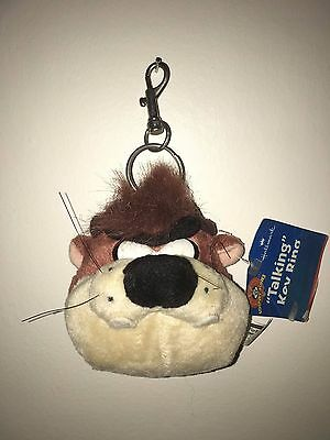 Rare Collectable Taz Talking Key Ring