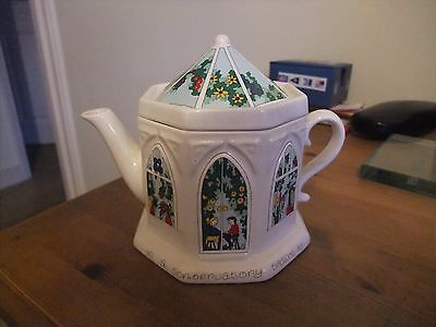 Lovely Wade Teapot Entitled A Conservatory Teapot