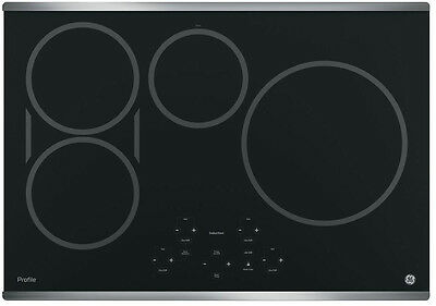 """GE Profile Induction cooktop 30"""" with Stainless Trim PHP9030SJSS"""