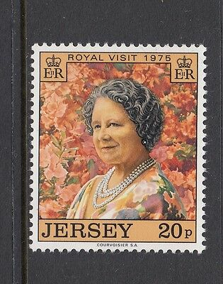 Jersey 1975  Royal Visit Queen Mother   Sg 123   Unmounted Mint