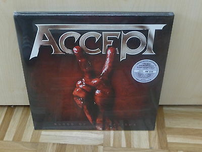 ACCEPT - blood of the nations 2LP Silver Vinyl 121/150 NEW still sealed