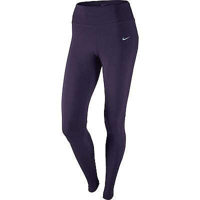 New Women's Nike Power Epic Lux Long Running Fitness Tights Size Medium 12