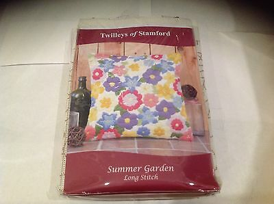 "Long Stitch Tapisserie Kit Summer Gar 14""/35.5Cm Twilleys Of Stamford 2892/0023"