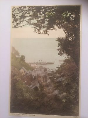 Clovelly From Above Cornwall Unused J Salmon Postcard