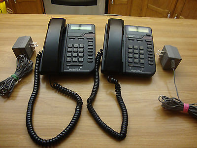 Lot Of Two M9009 + Bell Meridian Northern Telecom Telephone Made In Canada