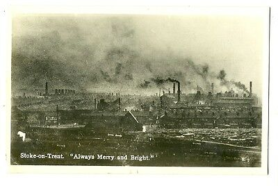Stoke-on-Trent - a photographic postcard: 'Always Merry and Bright'