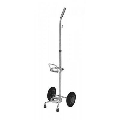 Brand New Oxygen Cylinder Tank Cart For D & E Cylinders - Usa Seller !!