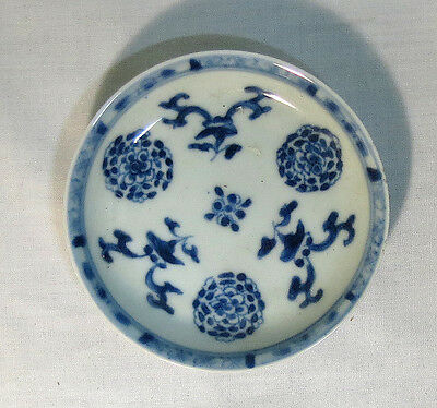 chinese porcelain plate decorated with flowers, nº2;  Kang Shi Period;