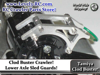 Axle Sled Guard ** Tamiya Clod Buster ** Rc Rock Crawler Truck Parts Clodbuster