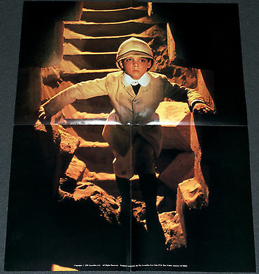 YOUNG INDIANA JONES TV SHOW 1992 ORIGINAL 16x20 FAN CLUB PROMOTIONAL POSTER!