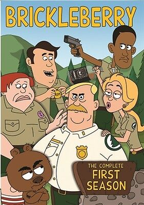 BRICKLEBERRY COMPLETE FIRST SEASON 1 New Sealed 2 DVD Set