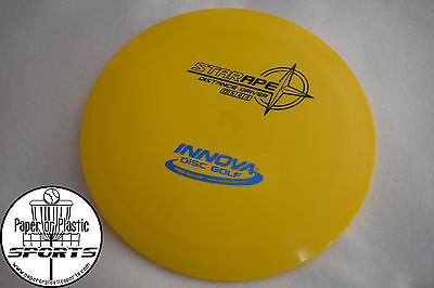 Innova Star APE Disc Golf 175 G Distance Driver Yellow BRAND NEW Black Stamp