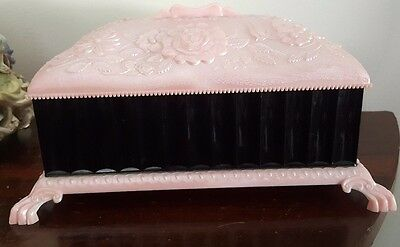 Vintage Hoadleys Pink & Black Chocolate Box