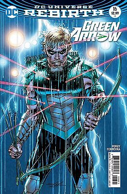 GREEN ARROW #16, VARIANT, New, First Print, DC REBIRTH (2017)