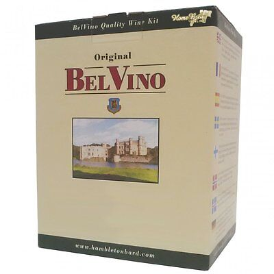 BelVino Wine Making Home Brew 7 Day 30 Bottle Kit DRIED FRUIT SOUTH AFRICAN RED